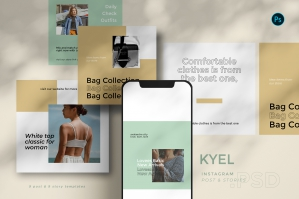 Keyl - Instagram Template Set