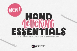 Hand Lettering Essentials Bundle