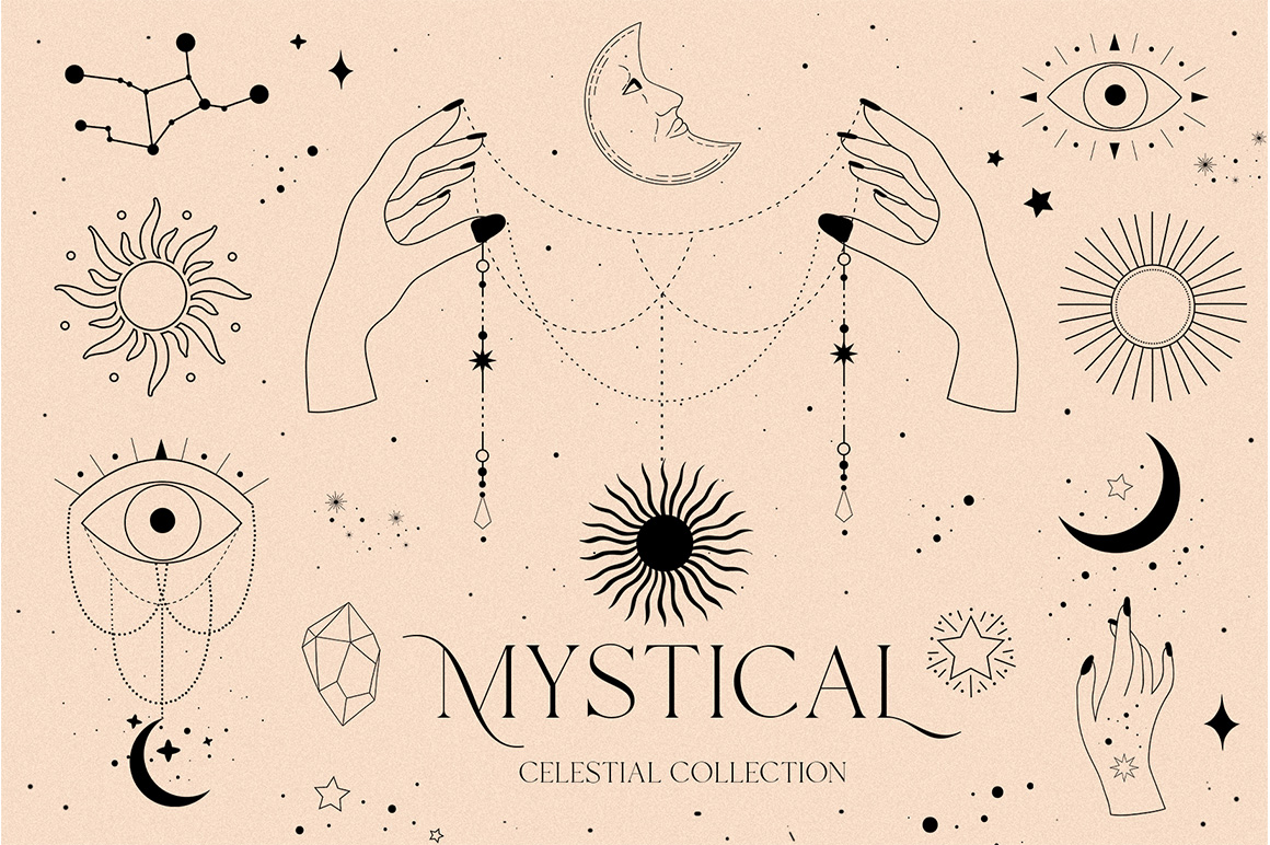 Mystical - Celestial Sun Moon Magic