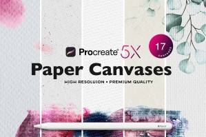 Procreate Paper Canvases