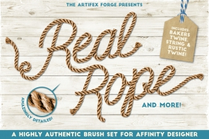 Real Rope - Affinity Brushes