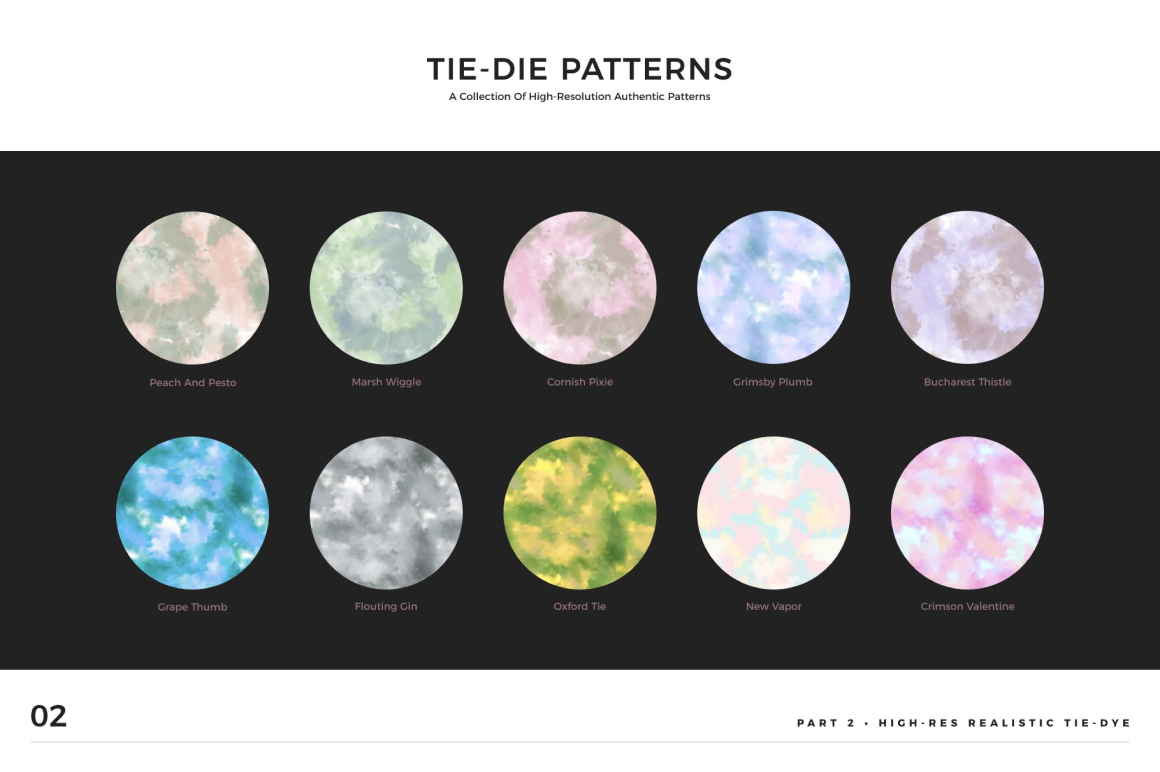 TYD - Tie Dye Background Patterns