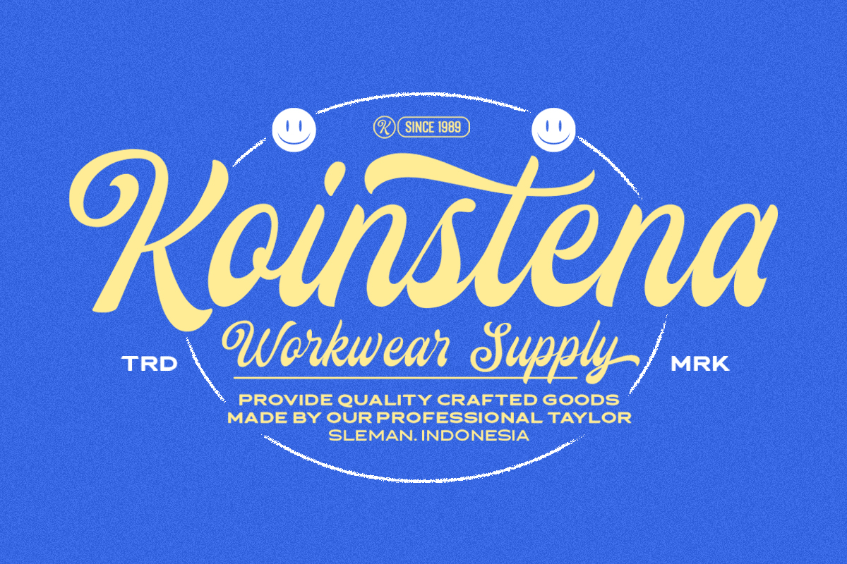 The Linestay - Display Script Font