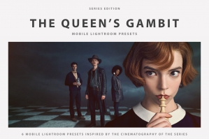The Queen's Gambit Mobile Lightroom Presets