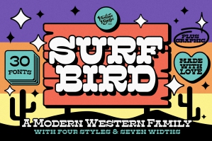 The Surfbird Font Family