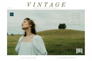 Vintage Mobile Lightroom Presets Vol.1