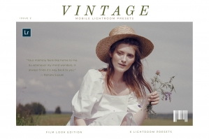 Vintage Mobile Lightroom Presets Vol. 2