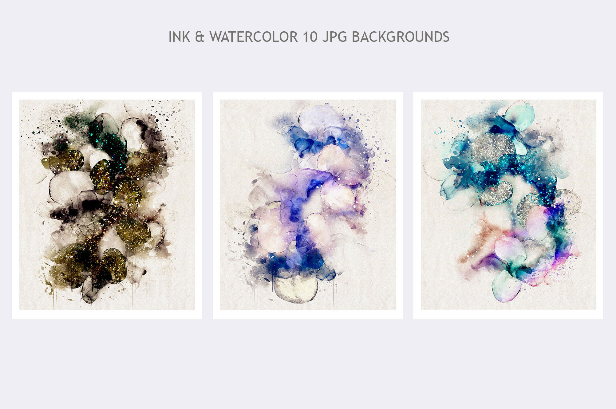 Watercolor Backgrounds Vol.6