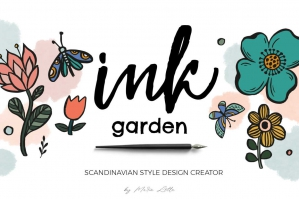 Scandinavian Garden Fun Ink Creator