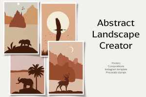 Abstract Landscape Creator Pack