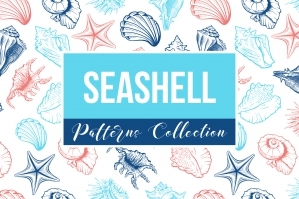 Seashells Patterns Collection
