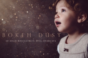 Bokeh Dust Photographic Overlays
