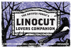 Linocut Lovers Companion - Affinity