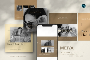 Meiya - Instagram Template Set