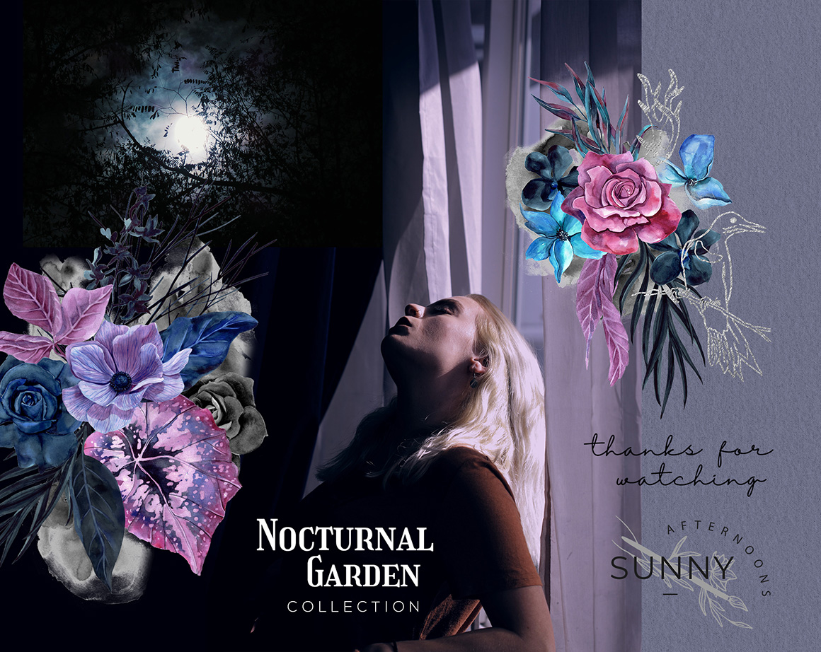 Nocturnal Garden Mystical Collection