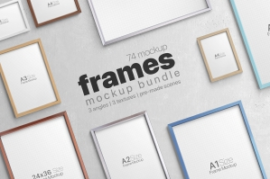 Picture Frame Mockups Bundle