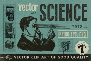 Science Retro Set