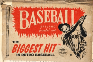 Retro Baseball Hit