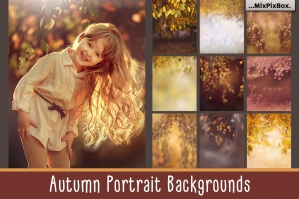 Autumn Portrait Backgrounds