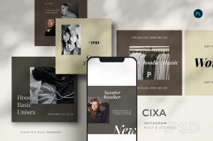 Cixa - Instagram Template Set