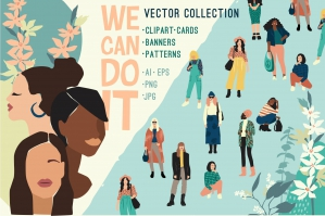We Can Do It - Vector Collection