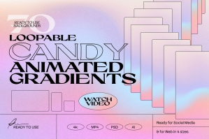 Candy - Animated Gradients Backgrounds