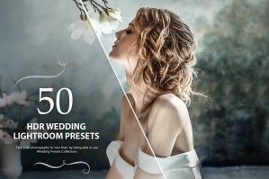 50 HDR Wedding Lightroom Presets