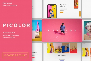 Picolor Creative Powerpoint Template