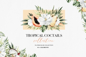 Tropical Cocktails Collection