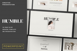 Humble Brand Editorial Powerpoint