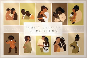 Abstract Family, Children & LGBTQ+ Collection
