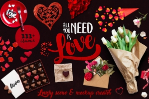All You Need is Love - The Lovely Scene Creator