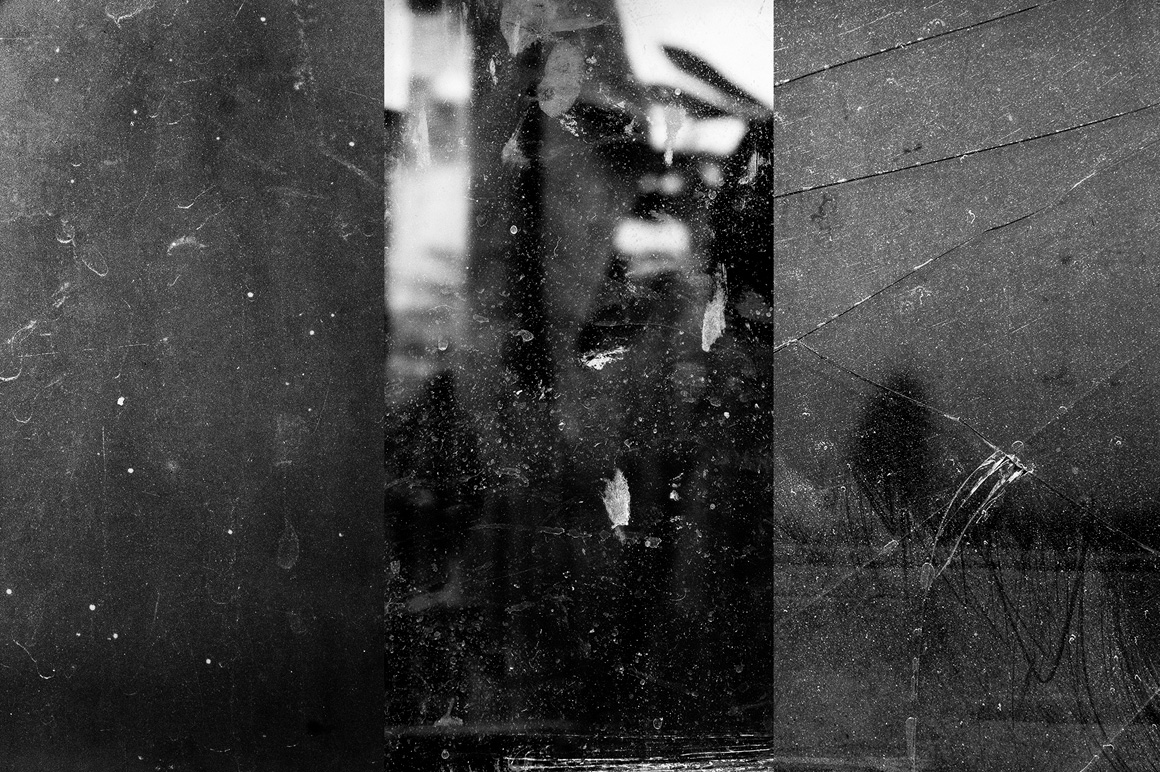 Broken and Dirty Glass Textures