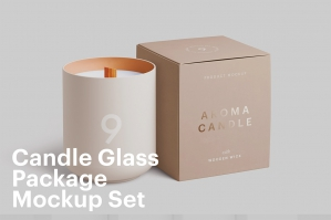 Candle Jar Mockup Set