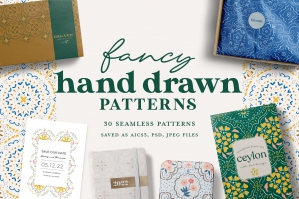 Fancy Hand Drawn Patterns