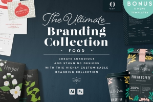 The Ultimate Branding Collection - Food