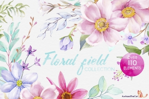 Floral Field Collection 1
