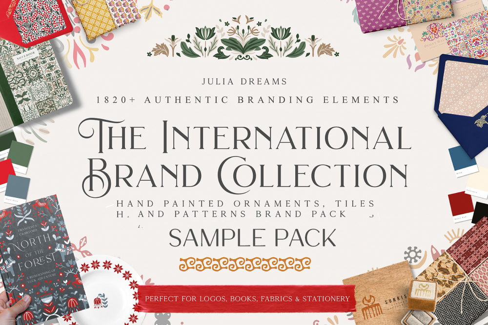 The International Brand Collection Sample Pack