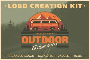 Outdoor Adventure - Logo Creation Kit