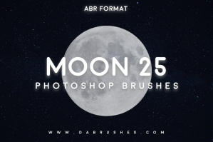 Moon Brushes For Photoshop