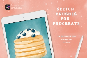 Sketch Brush Pack for Procreate