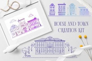 House and Town Creation Kit