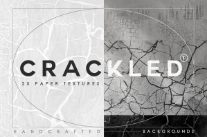 Crackled Effect Paper Textures