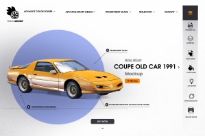 Coupe Old Car 1991