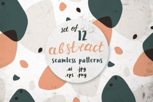 12 Abstract Seamless Patterns 10