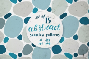 15 Abstract Seamless Patterns