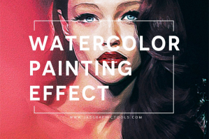 Watercolour Painting Effect Actions V.3