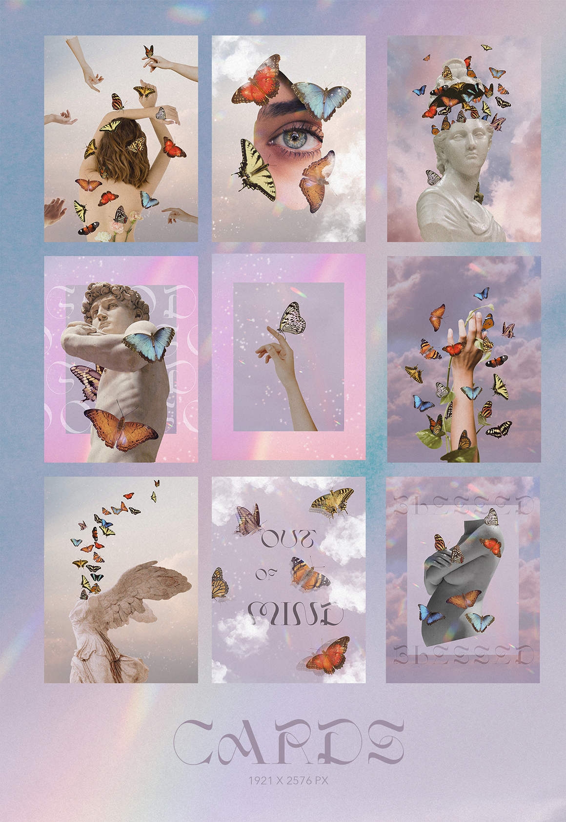 Butterflies - Collage Pack