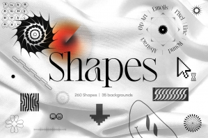 Shapes and Backgrounds Pack
