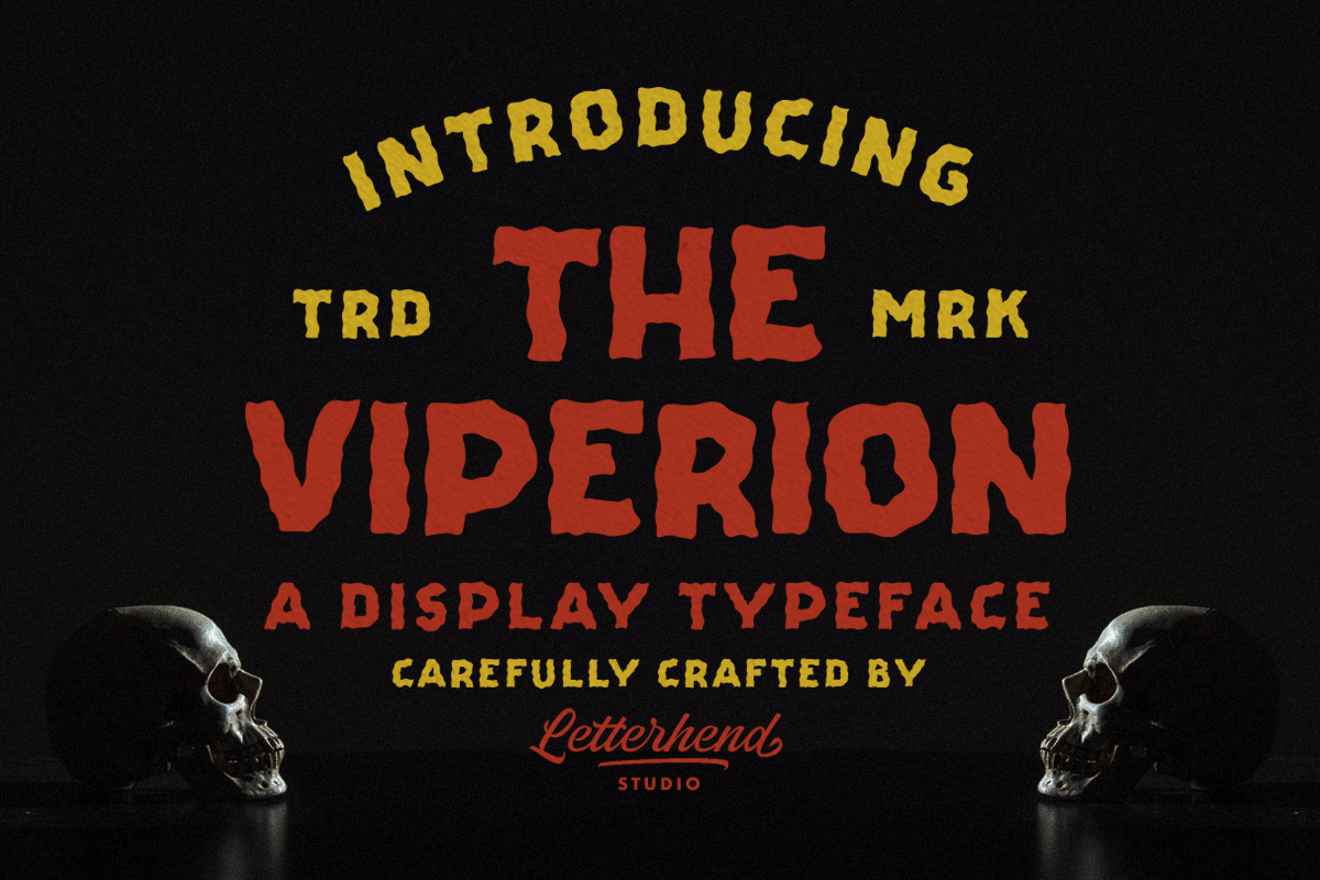 The Viperion - Display Typeface